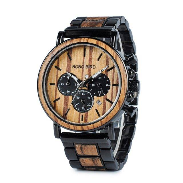 Boho Style Wooden Men's Watch