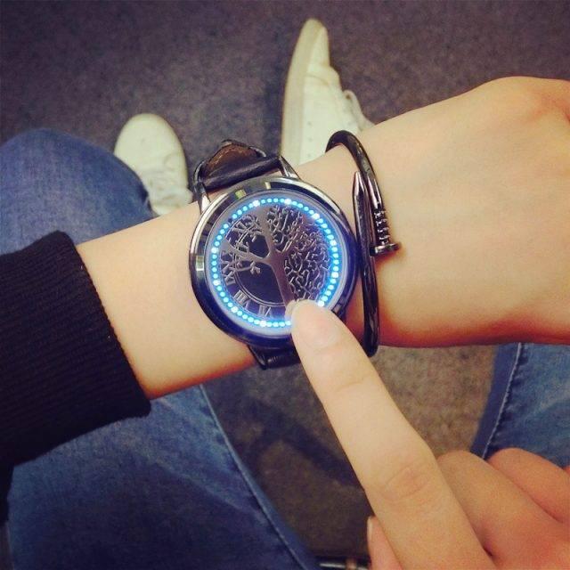 Minimalist Digital Wristwatches for Men