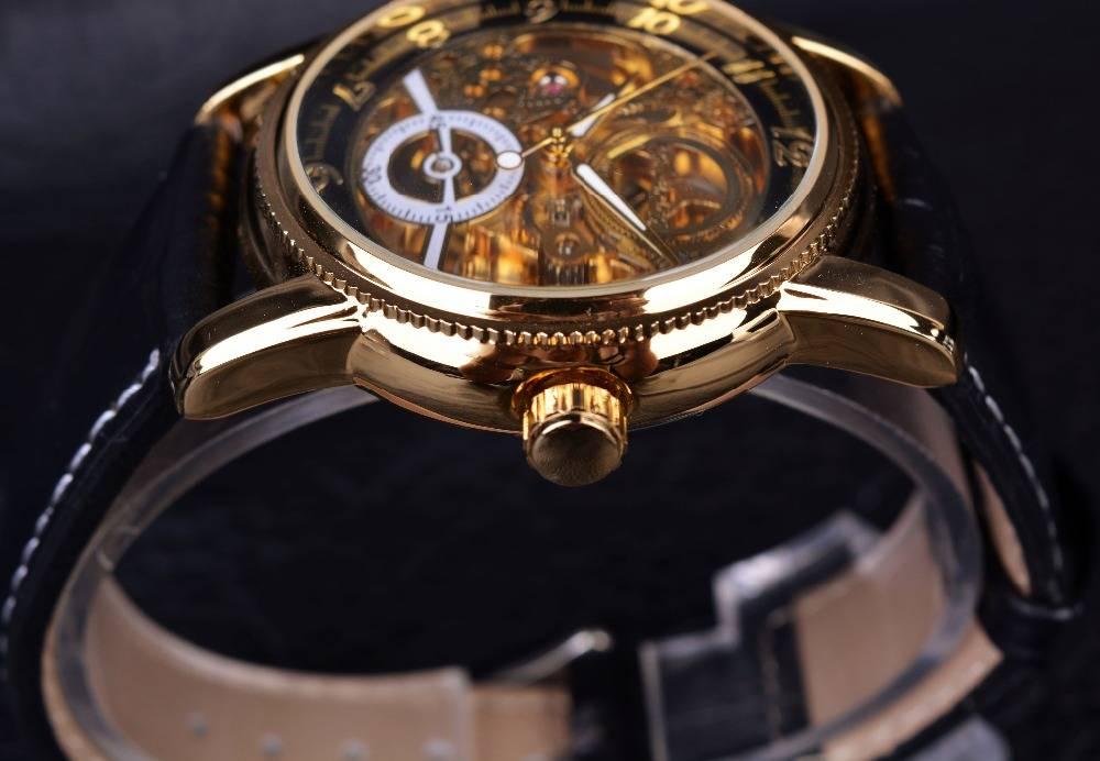 Men's Hollow Skeleton Watch