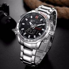 Classy Waterproof Watches for Men with Dual Dial