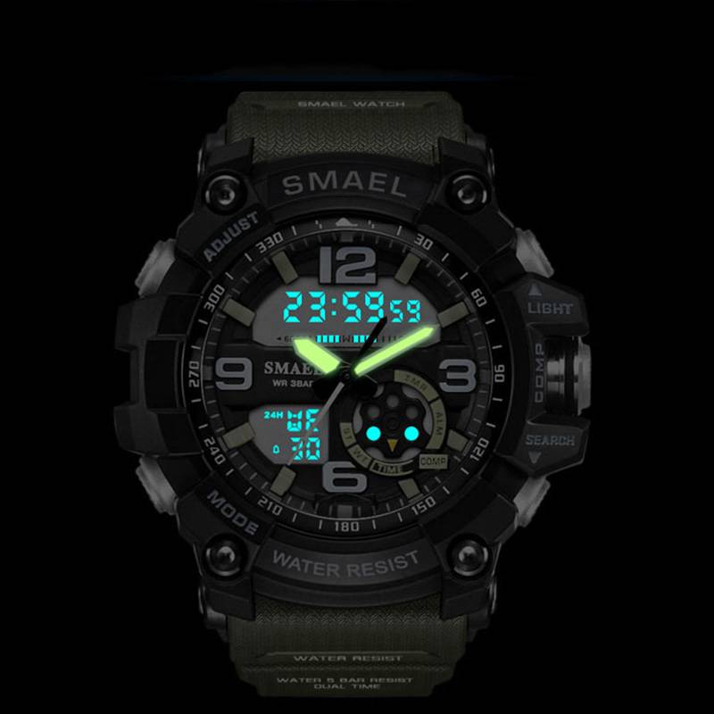 Elegant Sports Watches With Dual Display for Men