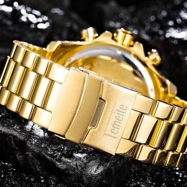 Men's Luxury Style Waterproof Watch