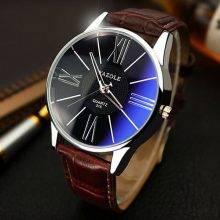 Elegant Classic Water Resistant Quartz Men's Watch