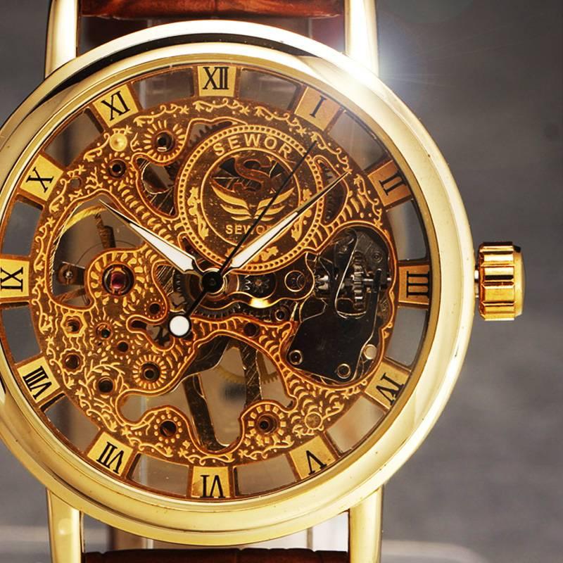 Men's Business Skeleton Watch