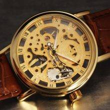Men's Business Skeleton Watch