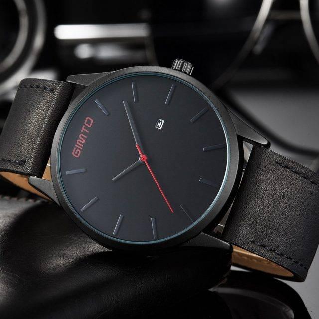 Fashion Casual Water Resistant Quartz Men's Wristwatch