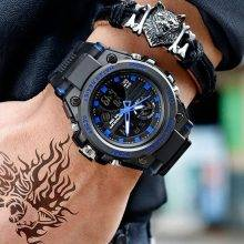 Men's Military Waterproof Watch