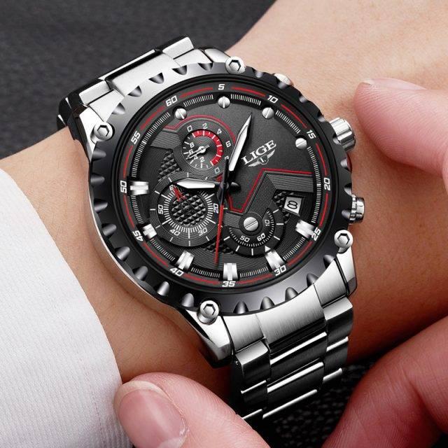Fashion Waterproof Men's Watches