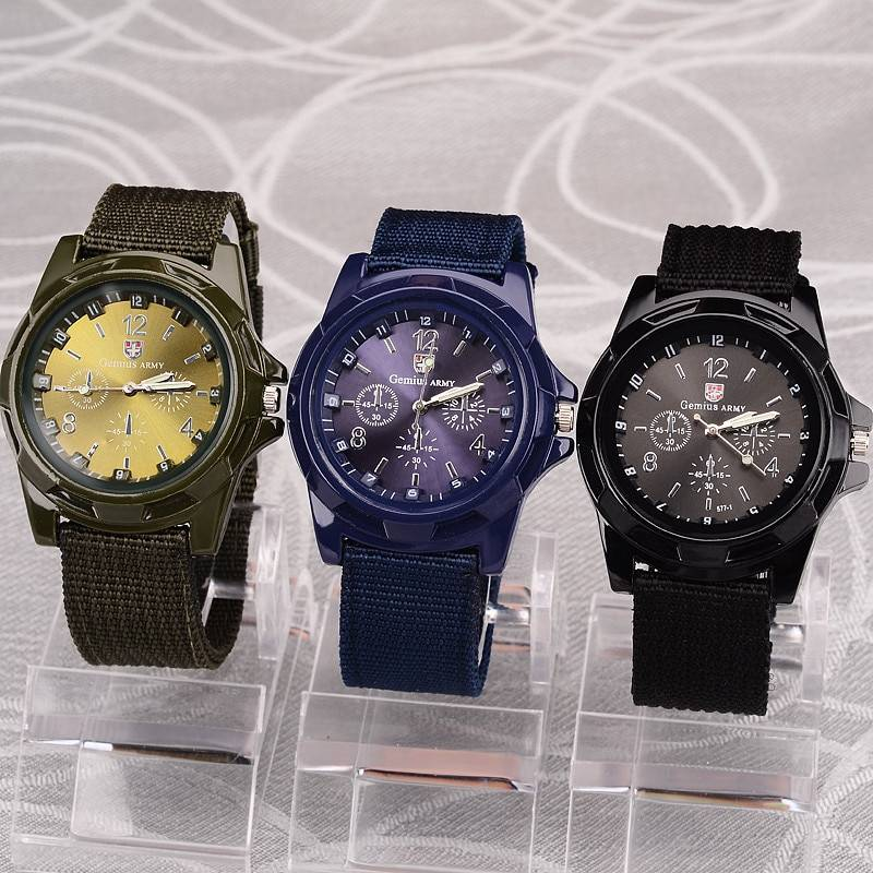 Men's Military Quartz Watch
