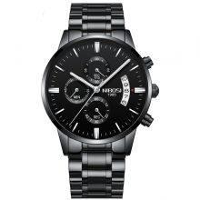 Men's Luxury Stainless Steel Wristwatch