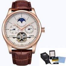 Men's Auto Mechanical Skeleton Watch