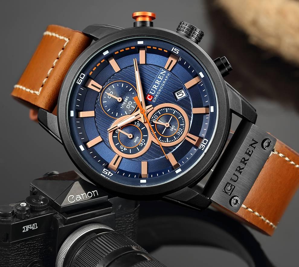 Sport Style Multifunctional Men's Watch
