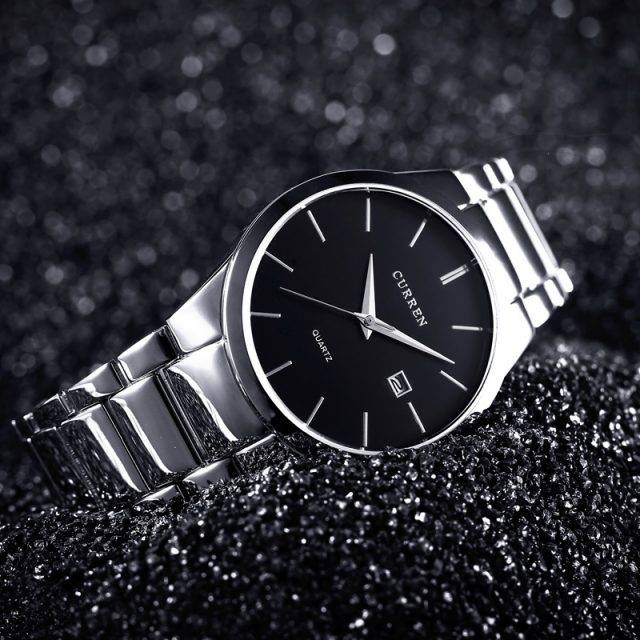 Casual Minimalist Wristwatches for Men