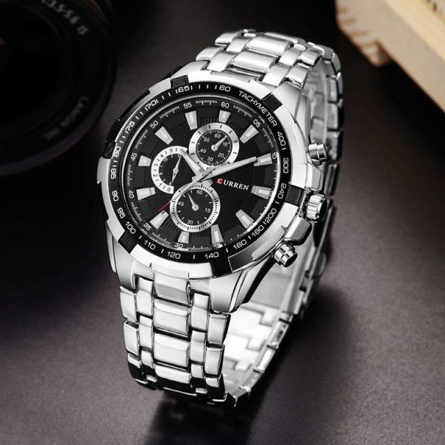 Men's Metal Wrist Watches