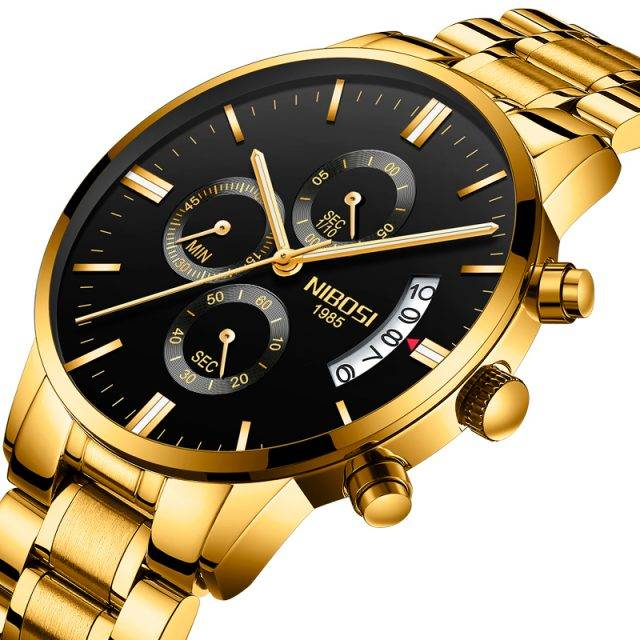 Waterproof Metal Wristwatches for Men