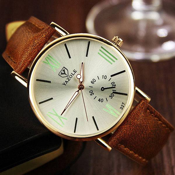 Water Resistant Quartz Men's Wristwatch