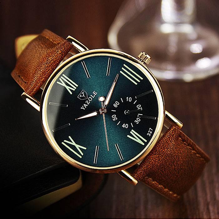 Water Resistant Quartz Men's Wristwatch