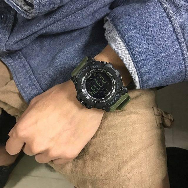 Men's Shockproof Smart Digital Watch
